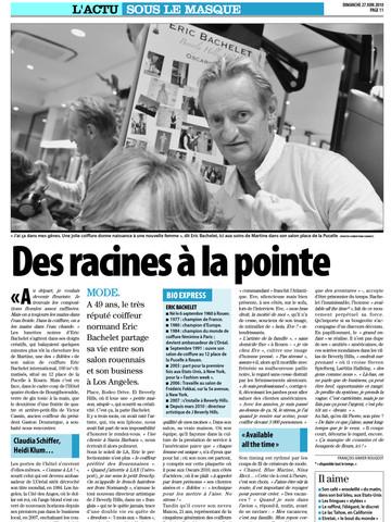 Eric Bachelet - Liberté-Dimanche (Rouen)