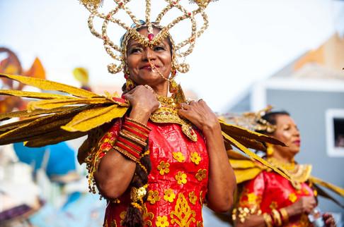 Carnaval des professeurs, São Vicente, Cap-Vert, 2 mars 2019.