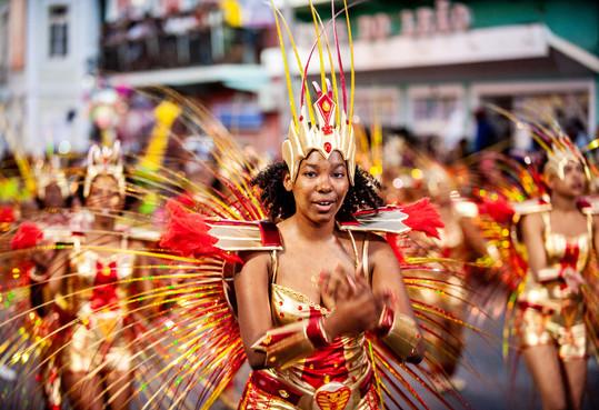 Carnaval de São Vicente, Cap-Vert, 5 mars 2019.