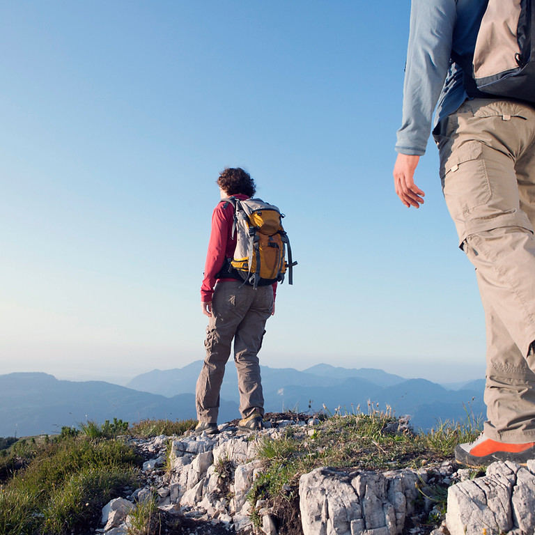 Hiking in the Riserva Naturale di Monti Rognosi (National Park)