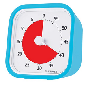 The Time Timer helps with Chronic Disorganization