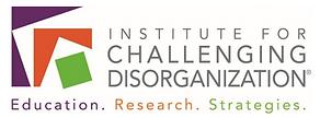 "Logo des ""Institute for Challenging Disorganisation"""