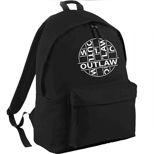 Outlaw Embroidered Backpack