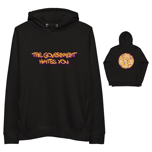 Outlaw GOVH8 SPRAY hoodie [black]