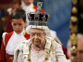 Police banned from searching Queen's estates for stolen artifacts.