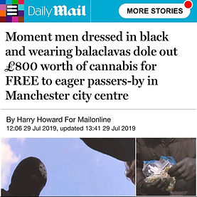 OUTLAW DAILY MAIL - ACTIVISTS GIVE OUT *