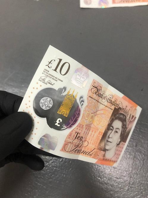 Original OUTLAW £10 Note