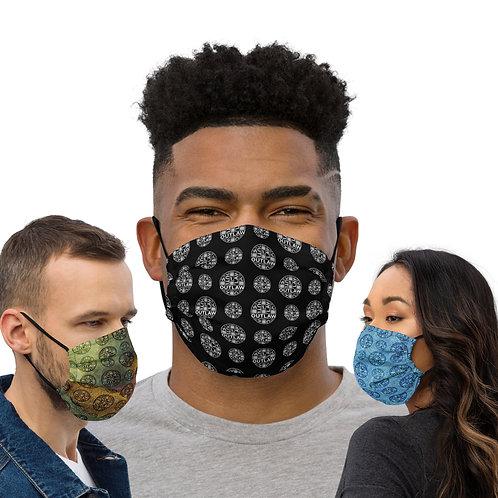 Outlaw COVID masks [black/blue/camo]