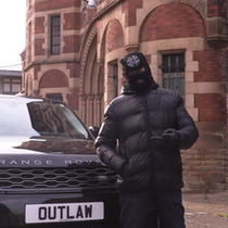 OUTLAW PRISON NUMBER PLATE ILLEGAL