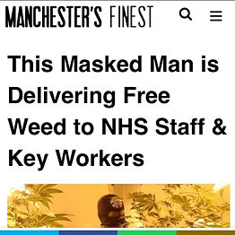 SENDING WEED CANNABIS TO NHS WORKERS AND