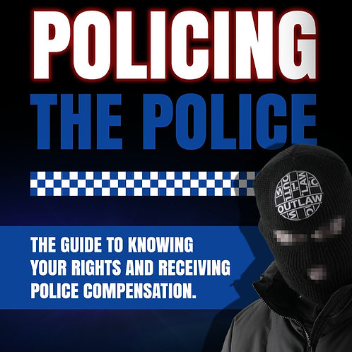 'Policing The Police' book by OUTLAW