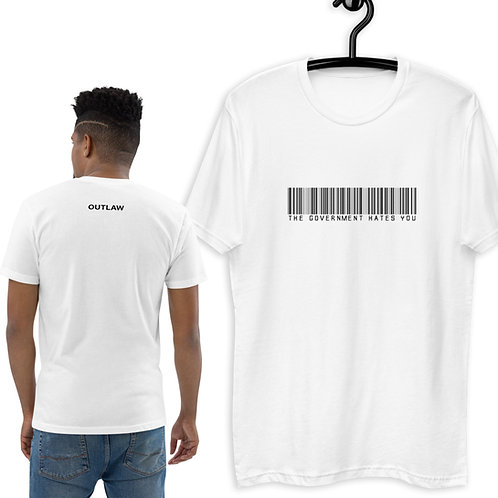 Outlaw BARCODE t-shirt [white]