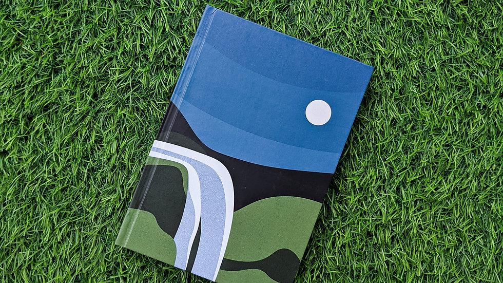 Moonlit Falls - Notebook