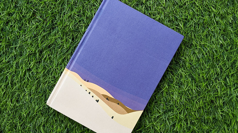 Midnight Desert - Notebook