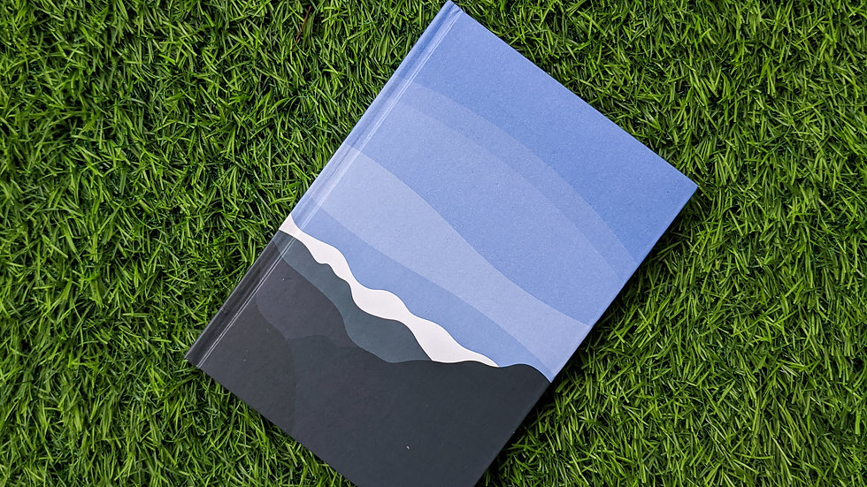 Wintry Mountains - Notebook