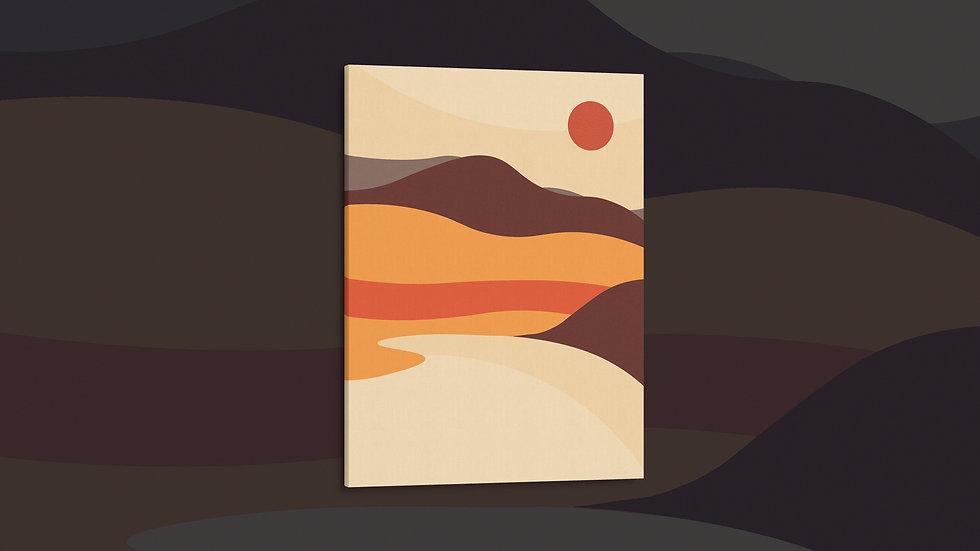 Golden Hour - Canvas