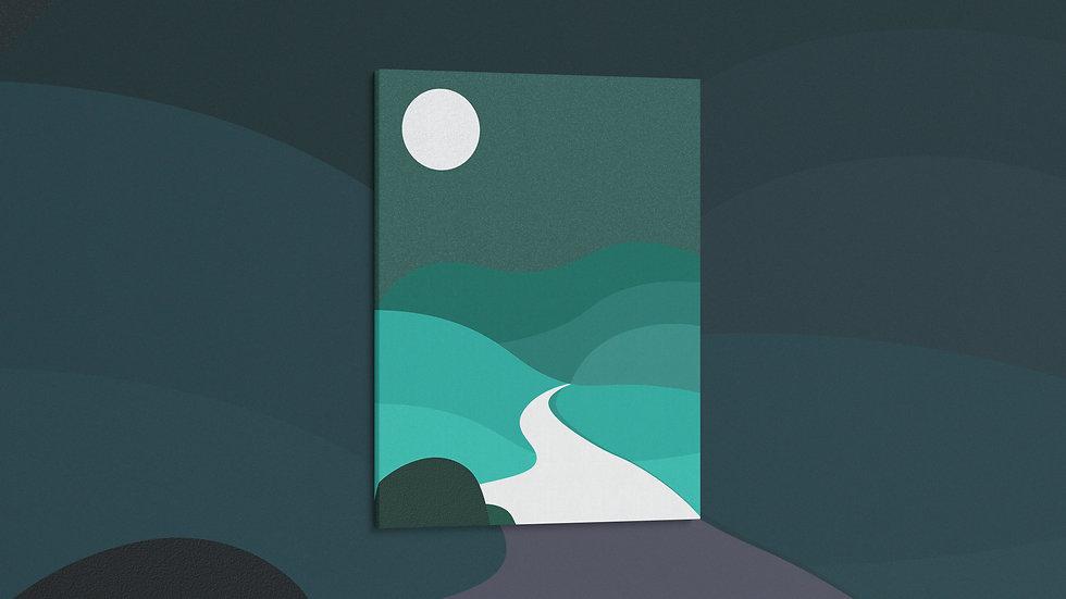 Emerald Valley - Canvas