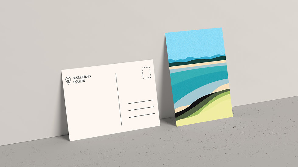 Daybreak Cove - Postcard