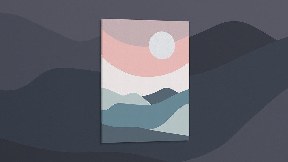 Pastel Point - Canvas