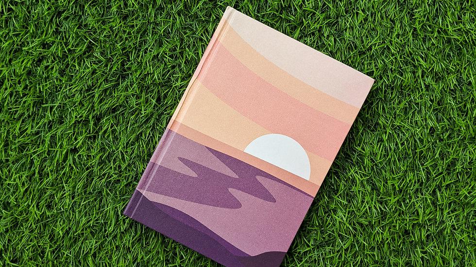 Lavender Lake - Notebook