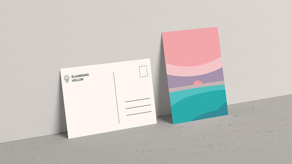 Twilight Sea - Postcard