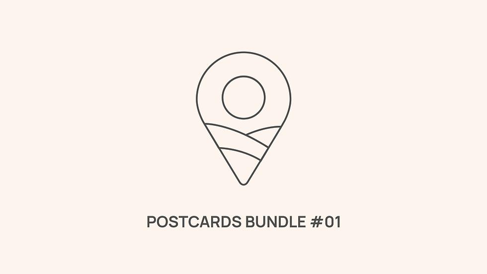 Postcards Bundle #01