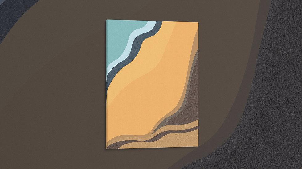 Golden Beach - Canvas