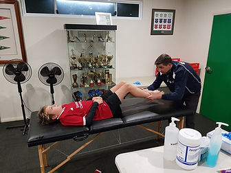 Sports Podiatry Gosford Footbll assessment