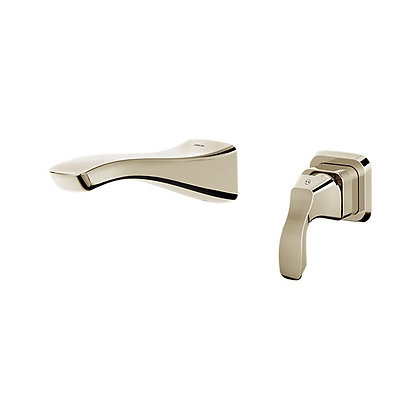 TESLA SINGLE HANDLE WALL MOUNT LAVATORY FAUCET TRIM