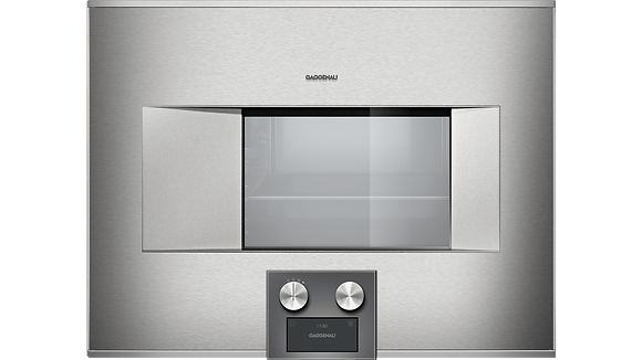"400 SERIES 24"" COMBI-STEAM OVEN, PLUMBED, RIGHT-HINGED, BOTTOM CONTROLS"