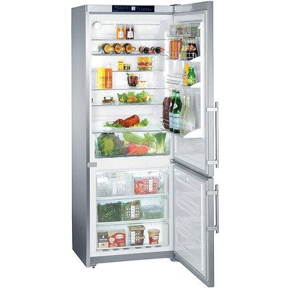 """Refrigerador y Congelador acero 30"""""""