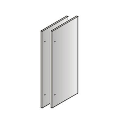 84'' FRENCH DOOR STAINLESS PANELS FOR HC(B)S