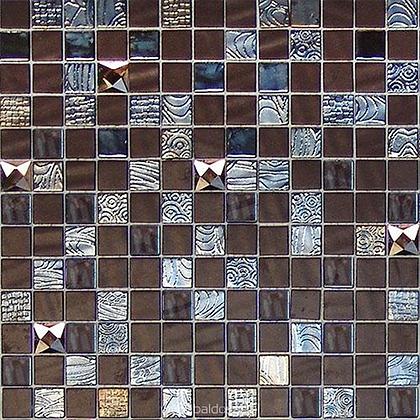 MYSTIC GLASS AGATA DIAMOND BROWN 2.5x2.5 M 311x311 -D