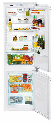 "Liebherr - 24"" integrable fridge-freezer with NoFrost Allows custom panels."