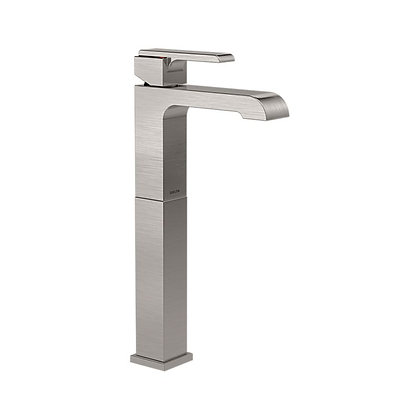 SINGLE HANDLE SINGLE HOLE LAVATORY FAUCET WITH RISER