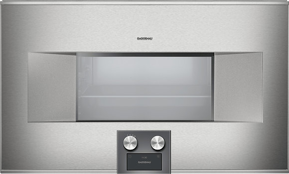 400 SERIES COMBI-STEAM OVEN  PLUMBED  LEFT-HINGED
