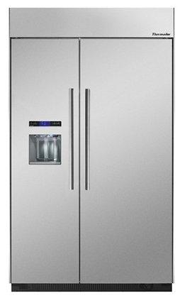 """Refrigerador y Congelador acero 48"""""""