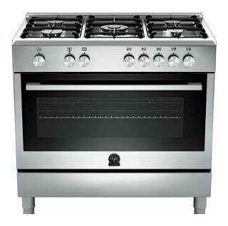 90x60 STAINLESS STEEL GAS RANGE