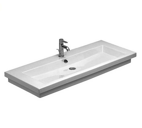 2ND FLOOR WASHBASIN GROUND INNER BASIN WHITE 1200MM, WHITE