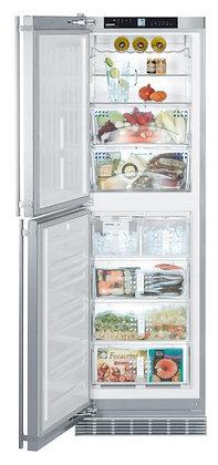 """Refrigerador y Congelador en acero 24"""""""