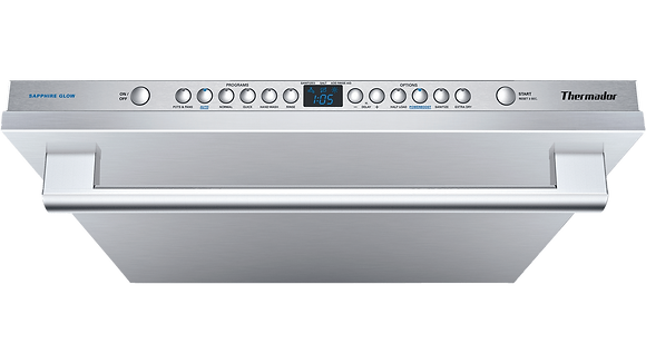 THERMADOR - 24'' Sapphire Dishwasher Masterpiece Handle