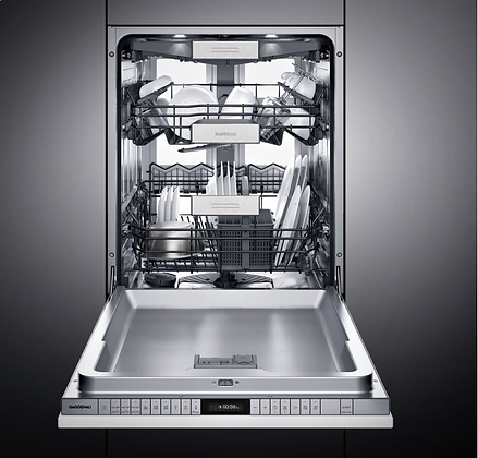 FULLY INTEGRATED DISHWASHER WITH FLEXIBLE HINGE, PUSH TO (NEW PART: DF481763F)