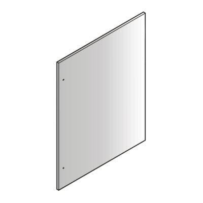 80'' SINGLE DOOR STAINLESS PANELS FOR HC(B)S
