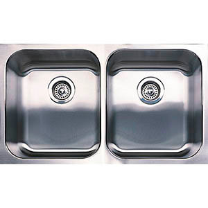 BLANCO - BLANCO SPEX DOUBLE BOWL STAINLESS STEEL