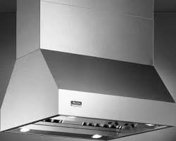 "VIKING - 42"" W. Duct Cover For Island  Hood Stainless Steel"