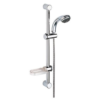 """GROHE - TOP 4HAND SHOWER WITH 24"""" BAR HOSE & SOAP DISH"""