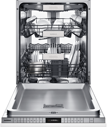 400 SERIES PUSH-TO-OPEN DISHWASHER, EURO TUB, 8 PROGRAMS, 3RD RACK, SOFT-CLOSING