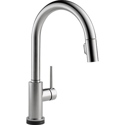 SINGLE HANDLE PULL-DOWN KITCHEN FAUCET FEATURING TOUCH2O(R) TECHNOLOGY