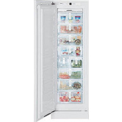 "Liebherr - 24"" integrable built-in freezer with NoFrost / Allows custom panels"