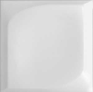 DOT WHITE 12.6X12.6 REL MATE